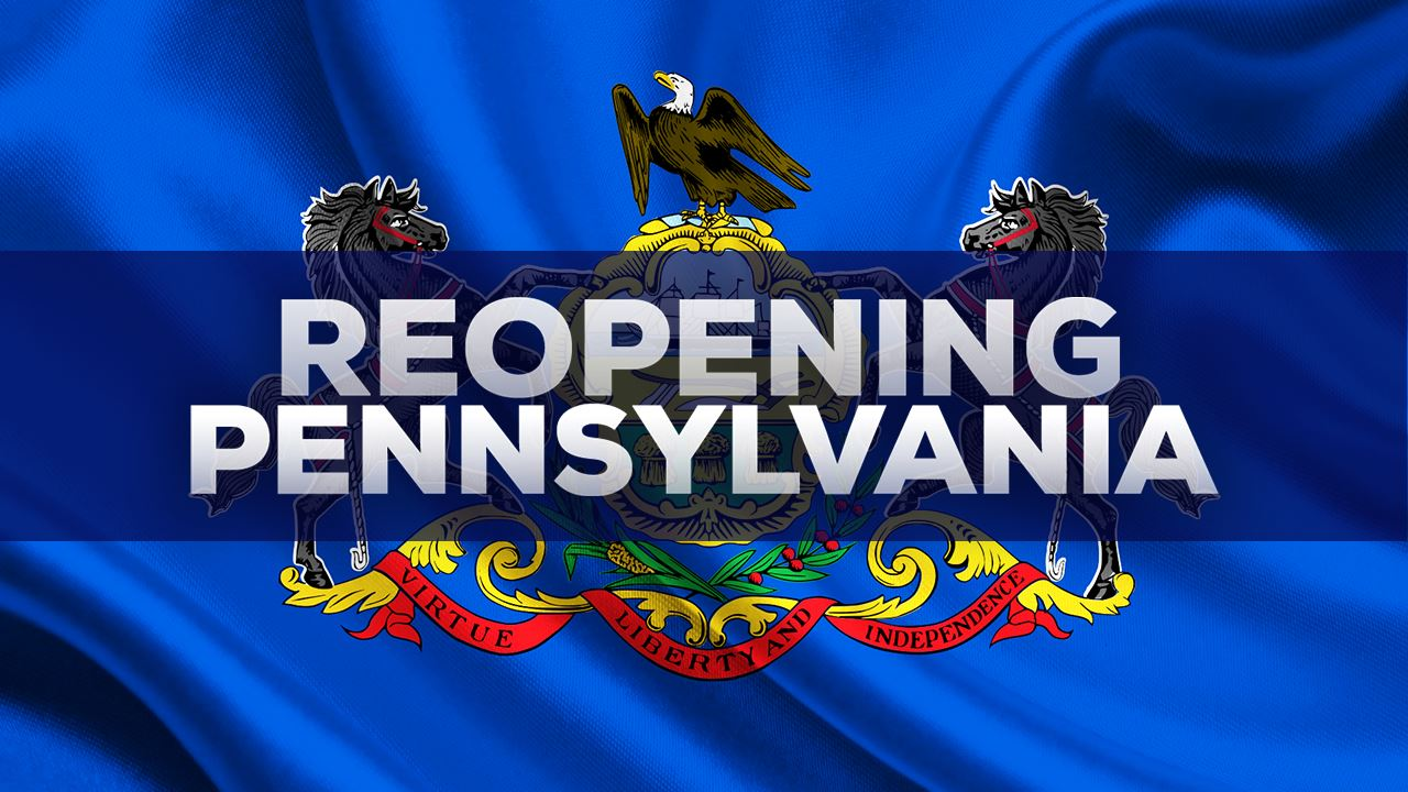 reopening pennsylvania